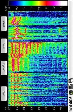 声音波谱查看分析仪 SpectralPro Analyzer截图