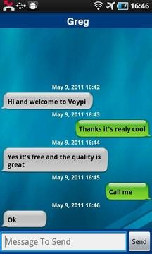 Voypi免费通信截图