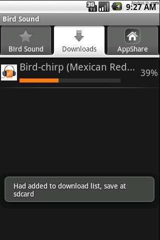 鸟叫声音截图(2)