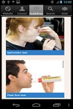 哮喘病人指南截图