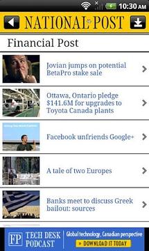 National Post Mobile截图