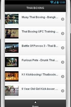 泰拳视频截图