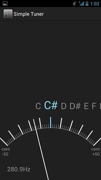 简单调音器截图