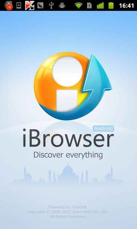 iBrowser浏览器截图