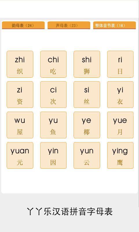 拼音字母表截图(3)