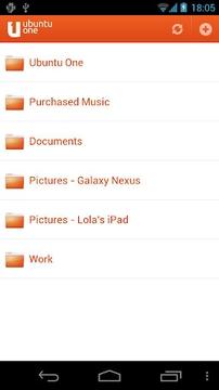 Ubuntu One Files截图