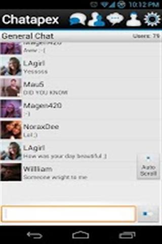 Chatapex - Chat App截图
