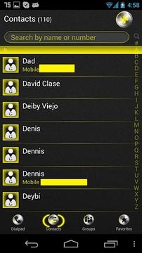 siri Yellow Go Contact Ex截图