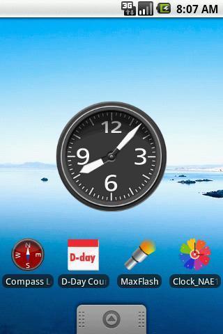 时钟插件截图