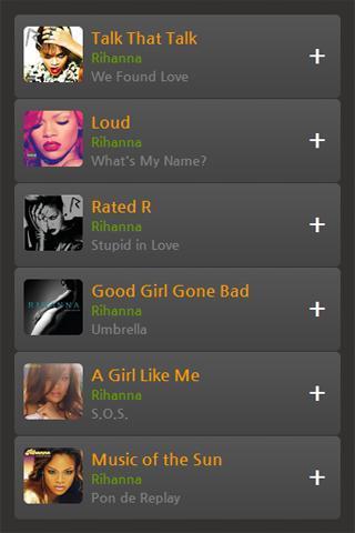 蕾哈娜(Rihanna)专辑歌曲音乐视频截图