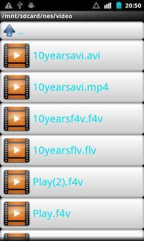影片/FLV F4V影片播放器下载信息