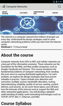 在线教育Coursera On The Go截图