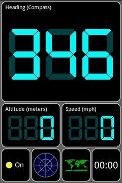 GPS测试仪截图
