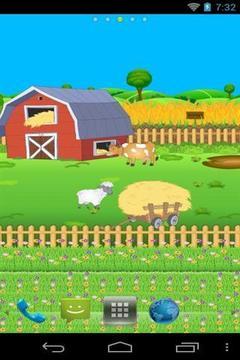 有趣的农场动态壁纸截图
