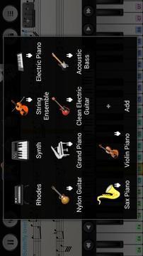 随身乐队小提琴插件截图