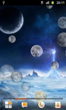 月球 动态壁纸截图