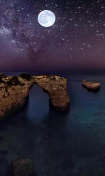 夜空银河-绿豆动态壁纸截图