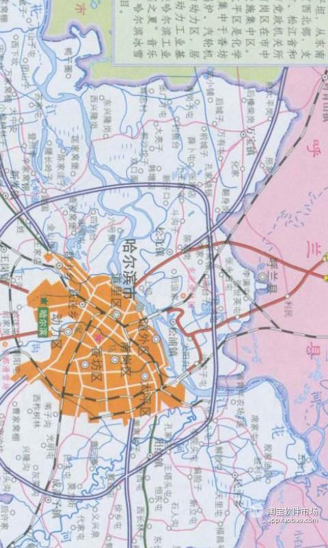 哈尔滨图吧导航地图下载