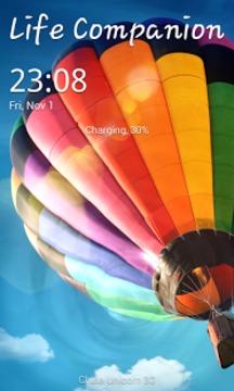 Galaxy S4 阳光解锁截图