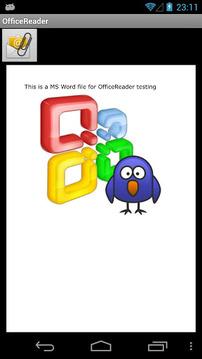 办公室的阅读器 Office Reader - .doc .ppt .xls截图