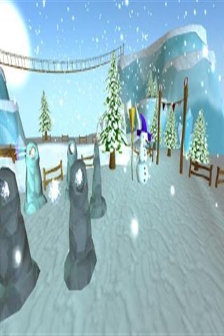 雪景3D动态壁纸下载