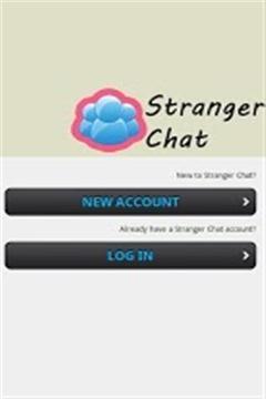 陌生人聊天截图