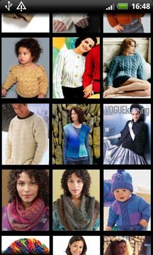 Knitting Patterns Database截图