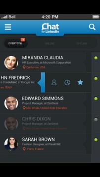 LinkedIn聊天Chat For LinkedIn截图