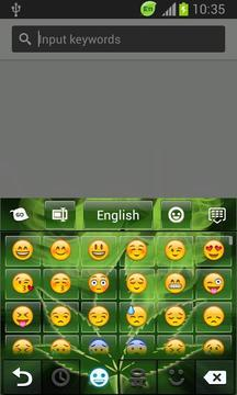 Keyboard Marijuanna Theme截图