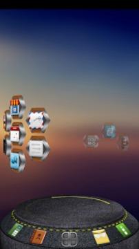 Drock Next桌面3D主题截图