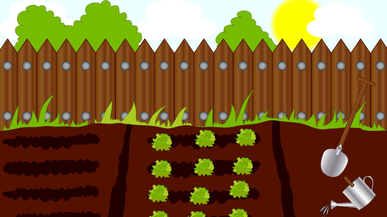 Пустой огород картинки для детей