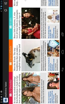 Daily Mail Online Tablet截图