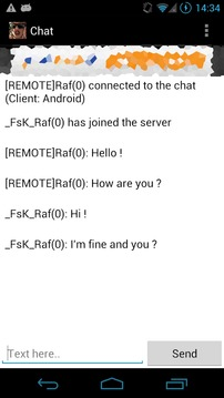 SA-MP Chat截图