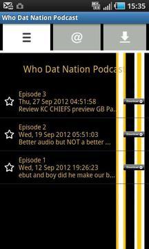 Who Dat Nation Podcast截图