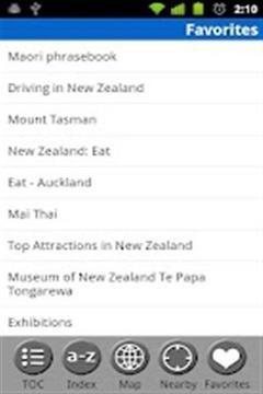 新西兰自由旅行指南截图