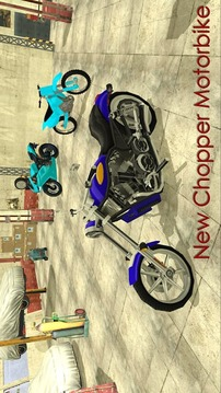摩托车驾驶模拟器3D截图