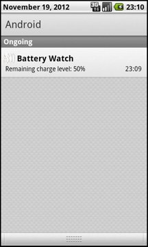 Battery Watch - Big Numbers截图