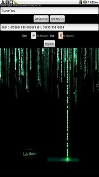 Morse SMS截图