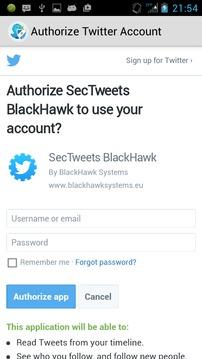 SecTweet 安全推文截图