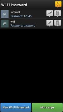 密码管理器截图