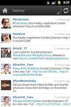 斯嘉丽·约翰逊 Scarlett Johansson Fans App截图