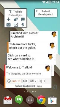 Trelloid社区截图