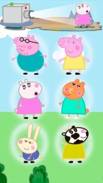 粉红猪小妹。婴儿游戏截图