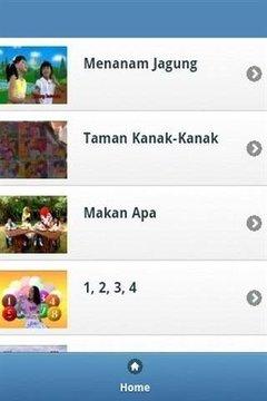 印尼儿童儿歌截图