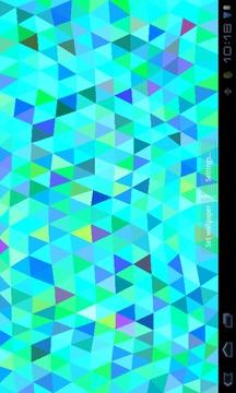 Triangles Live Wallpaper截图