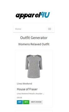 APPAREL4U Outfit Generator截图