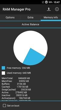 RAM优化截图