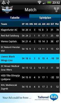 EHC LIWEST Black Wings Linz截图