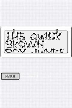 科技字体风格截图