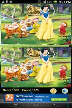 公主发现不同截图